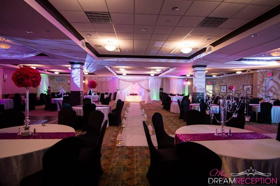Perfect @Hilton Garden Inn Lakeland Pink Wedding   Ballroom Reception Amazing Pictures