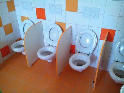 Kita-034-Bonn-034-Bad-WC-Trennwand-3-x-80-x-55-cm   Renovierung ...