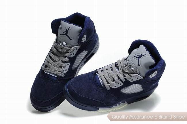 quality design 28e60 5f63b ... cheap nike air jordan 5 fluff navy bluegreywhite sneakers p 2929 nike  air jordan retro nike