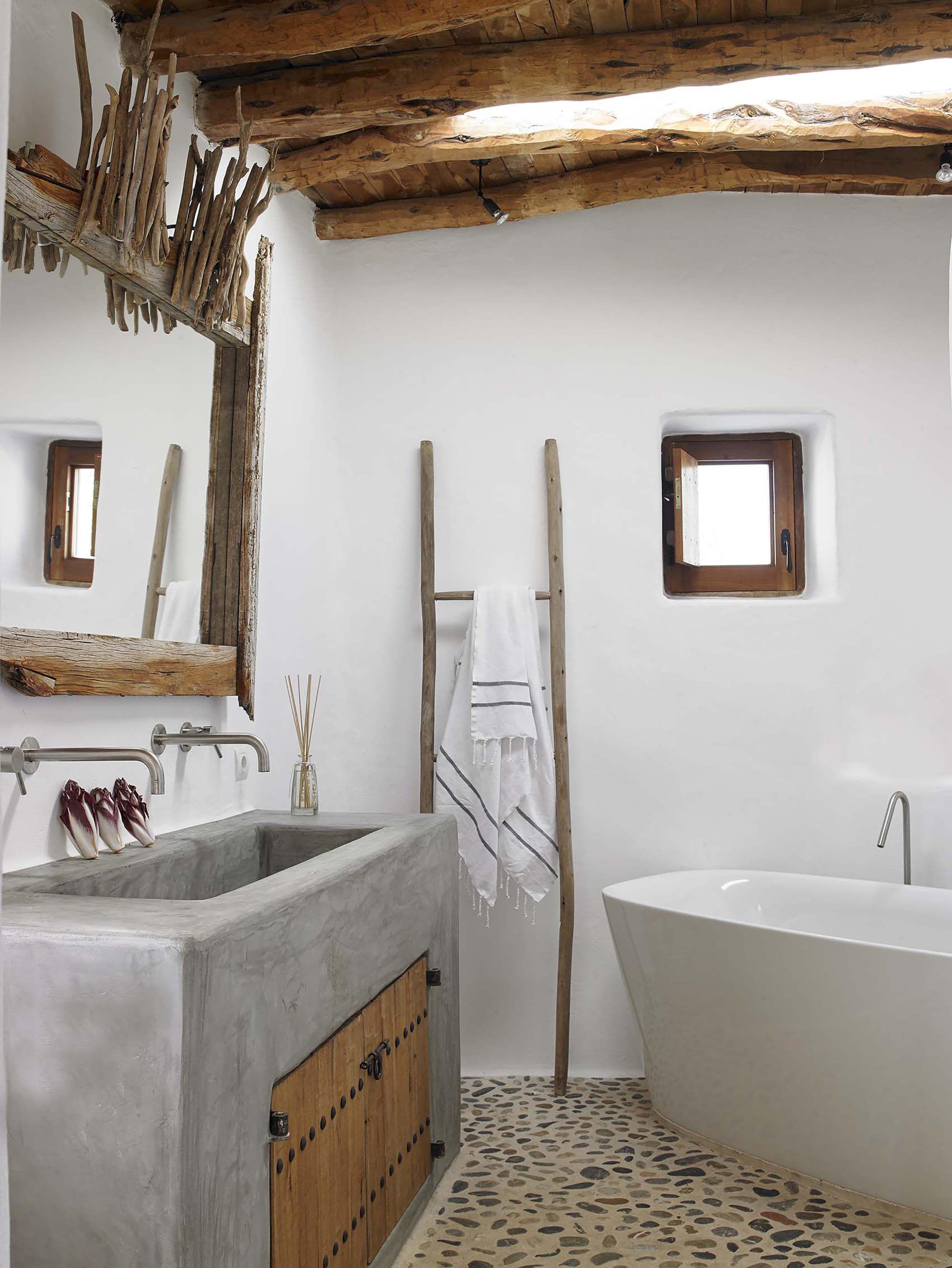 Emily Henderson Mountain Fixer Upper Rethink The Pebble Bathrooms ...