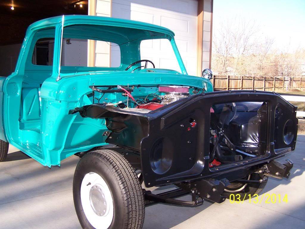 1964 Ford F100 Restoration Truck Enthusiasts Forums Pickup 1961 1966 Larger F Series Trucks Here Is A Teaser Pic Of My