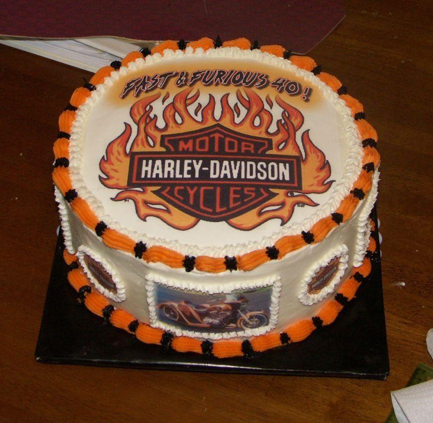 Harley Davidson Cake Harley Davidson Cake Cake Birthday Cake