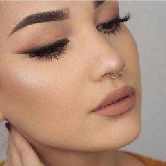 50 elegantes ideas de maquillaje de sombra de ojos ahumadas naturales para la fiesta de otoño – x fashion women
