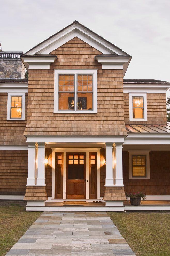Best Cedar Gables Exterior Craftsman With Cedar Shingle Homes 400 x 300