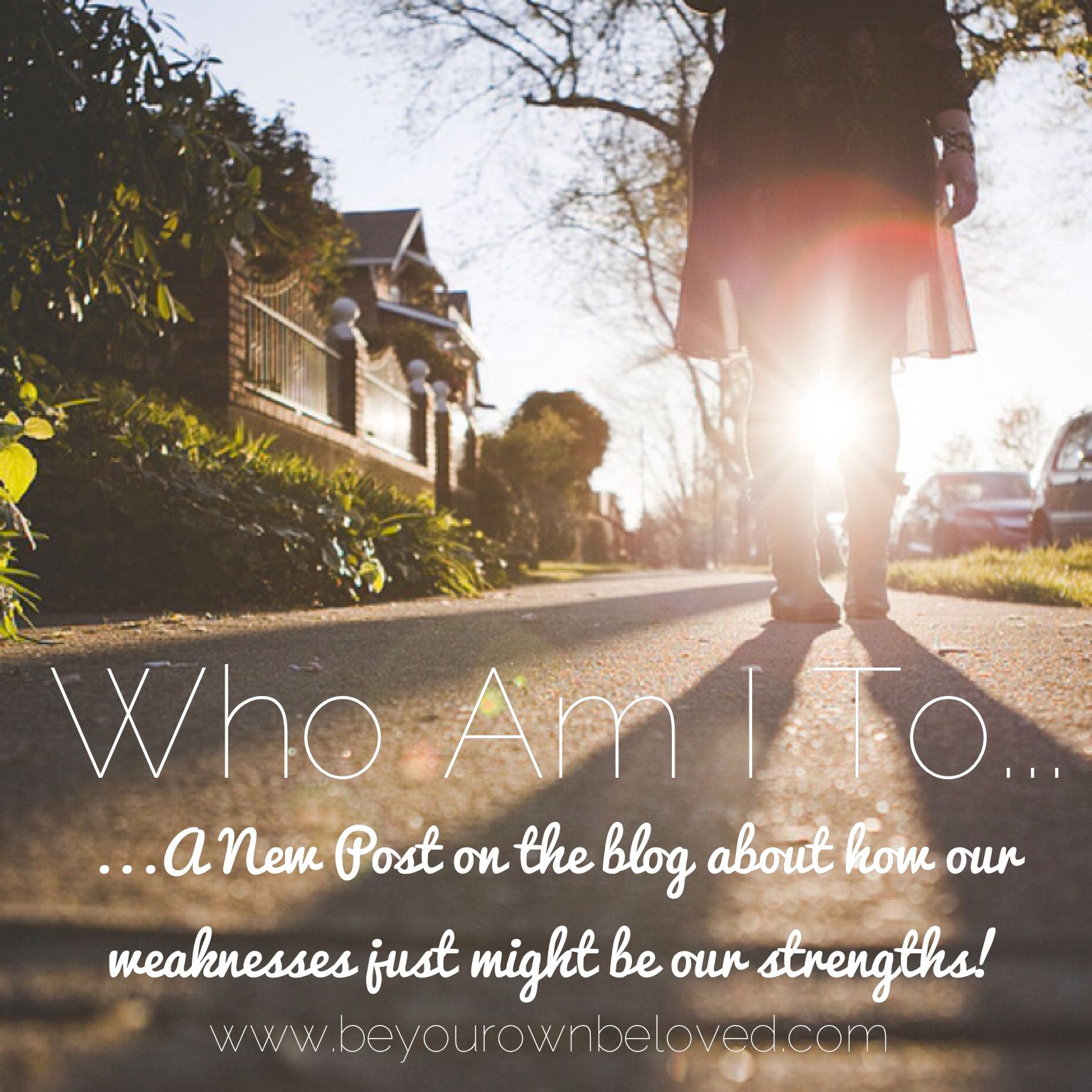 """""""Who Am I to...""""  A new post from Vivienne McMaster sharing about how sometimes our strengths are our weaknesses transformed...."""