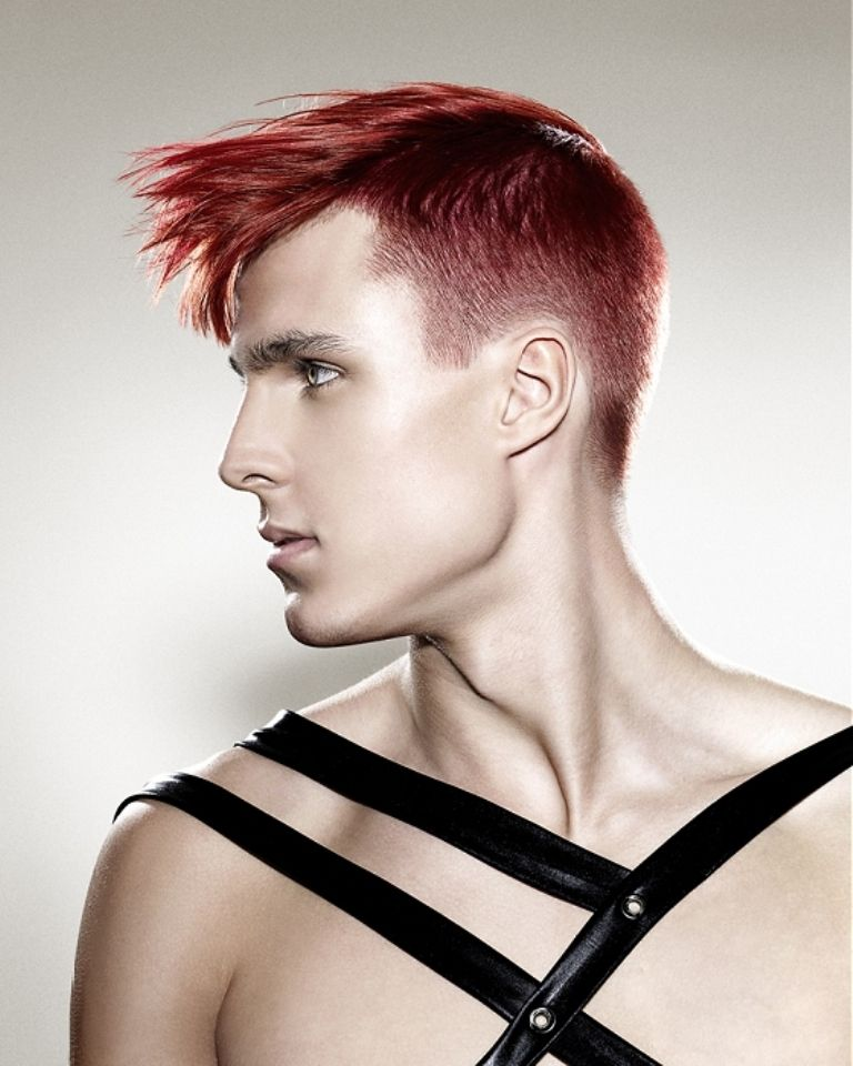 The Best Short Goth Hairstyles For Guys Hair Pinterest