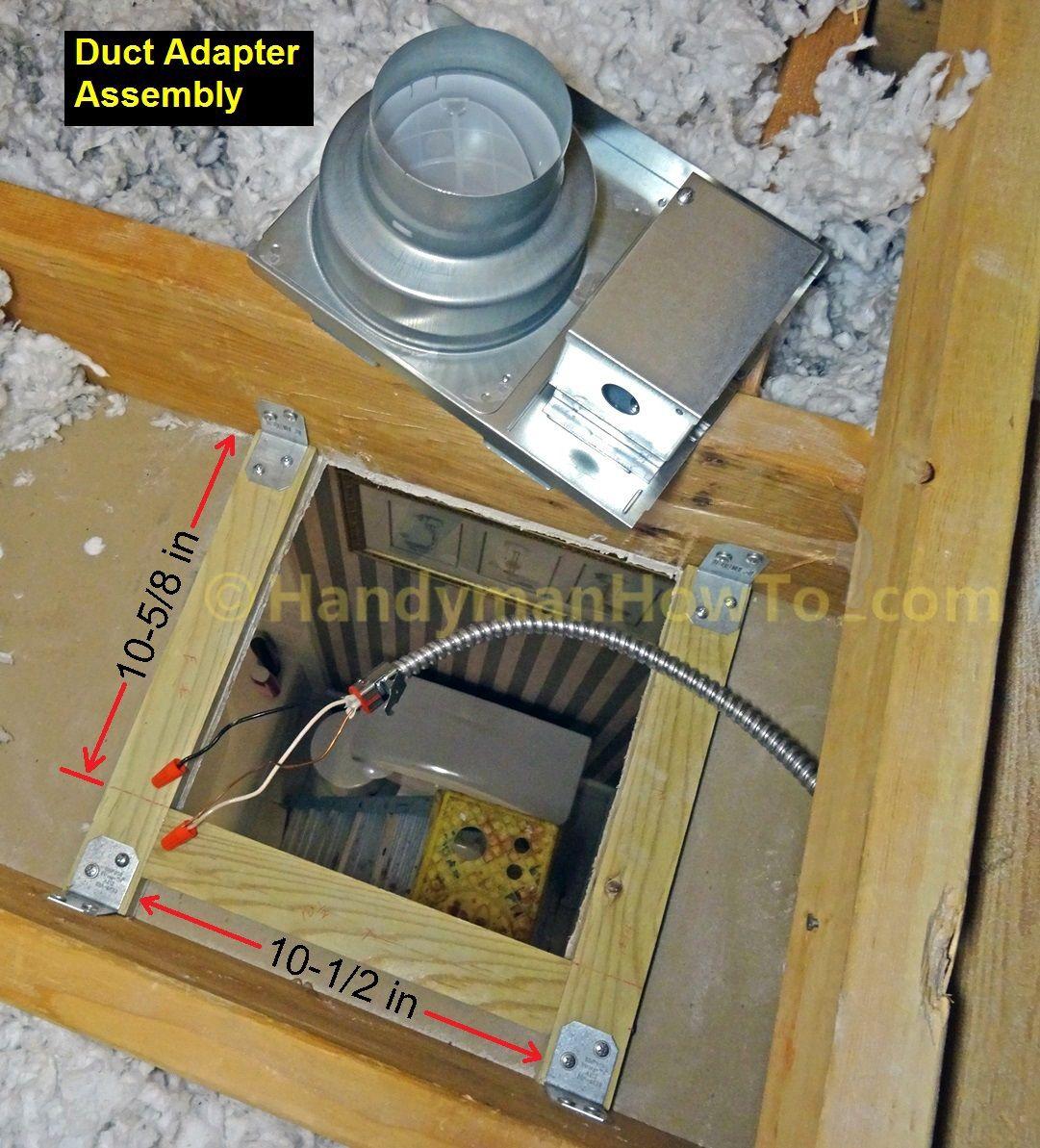 Panasonic Whisperceiling Bathroom Fan Wiring And Mounting