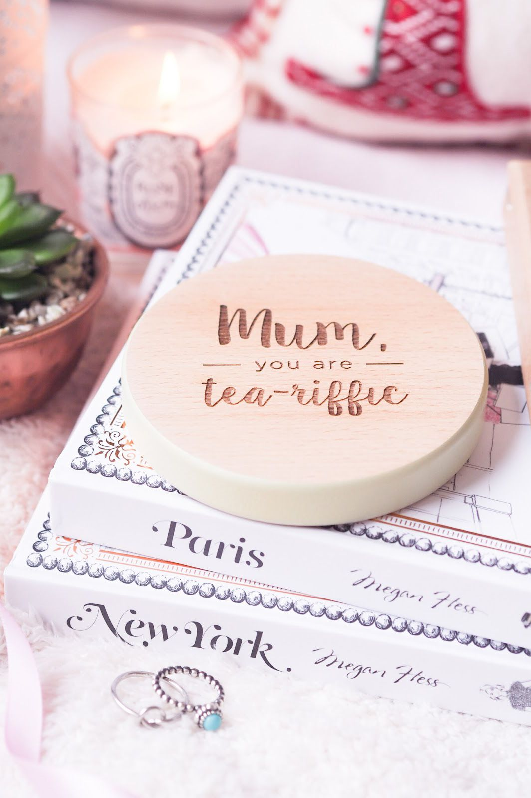 Kate Loves Reviewed Our Beautiful Mum You Are Tea Riffic Coaster