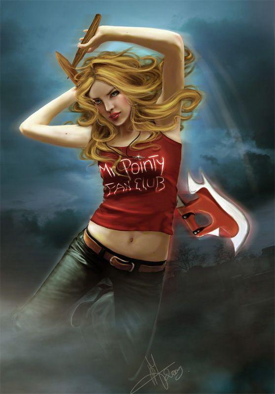 Buffy erotic fan art images 189