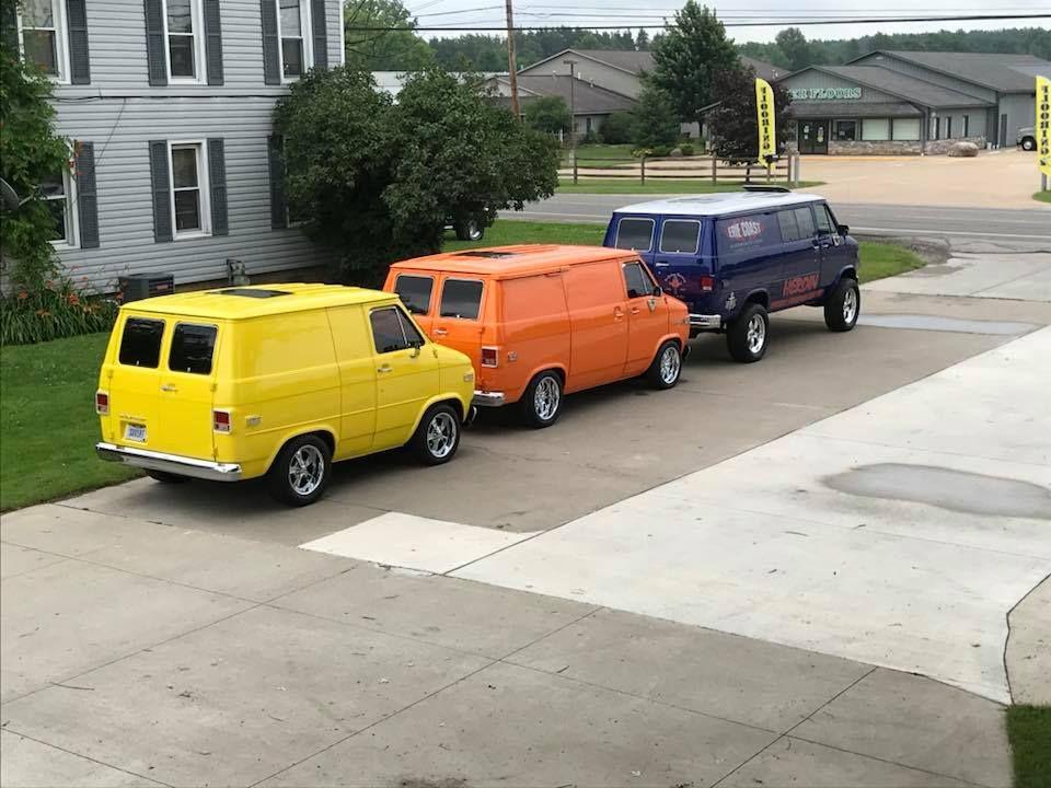 Pin By Cagdesign On 70s Chevy Vans Chevy Van Custom Vans Old