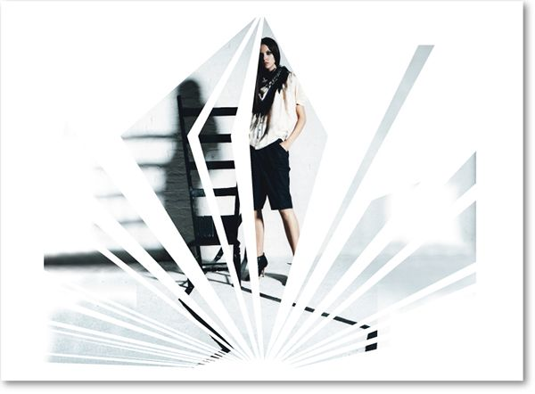 Illustration and design of a set of posters for fashion boutique – Fashion Poster Design