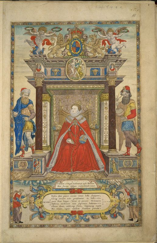 On the 15th January 1559, Elizabeth I was crowned Queen of