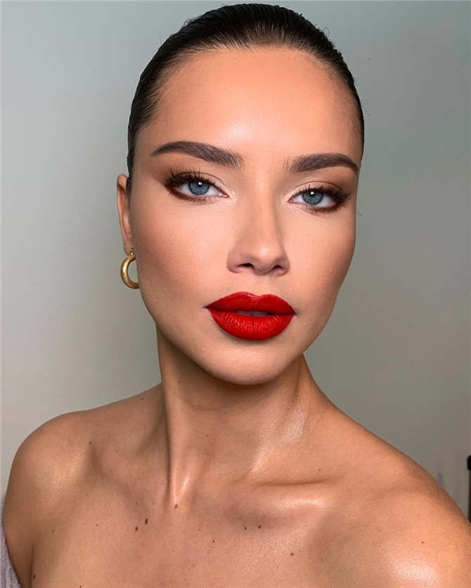 8 Alternativen zum roten Lippenstift Make-up   8 Alternativen zum roten Lippens Makeup Red Li…