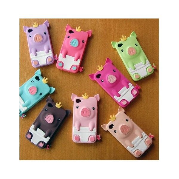 3D Crown Pig case iphone 4/4s