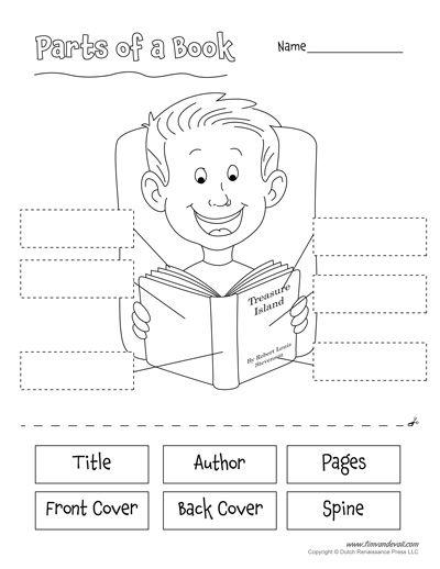 482391a36891be77e8970f9536e916c2 parts of a book task cards 3rd 4th 5th grade tasks, parts and on antecedent worksheets