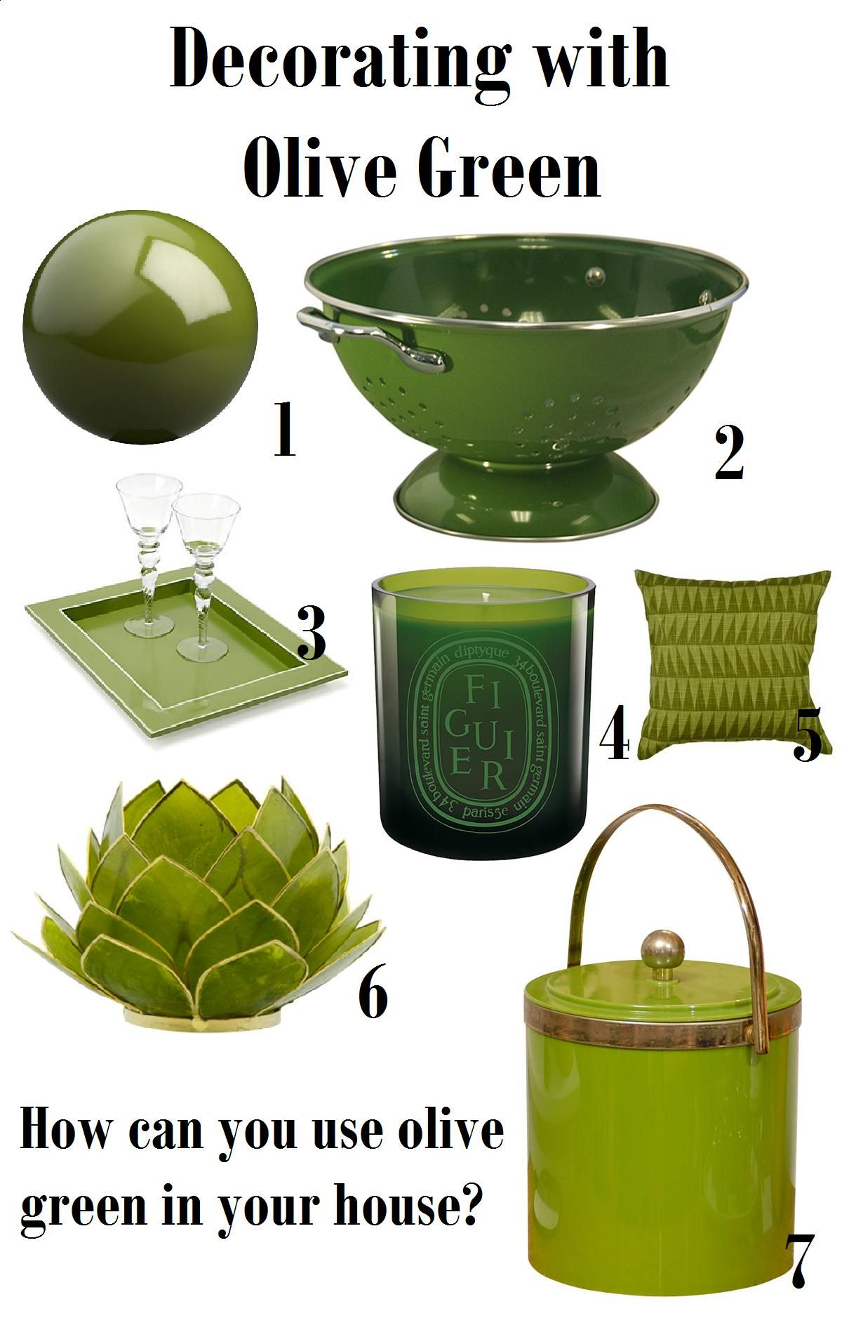 Color Fabulous: Olive Trends - Your design partner LLC