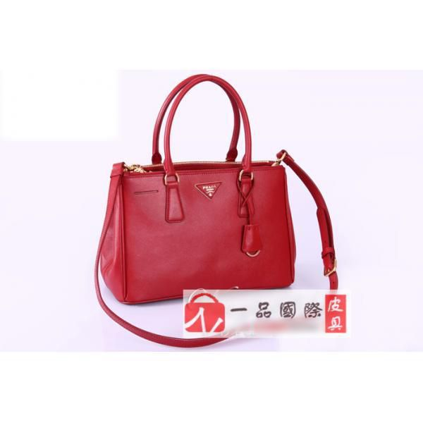 ba3259754f9f PRADA Tote Sling Bag BN1801 Red! Only  172.5USD