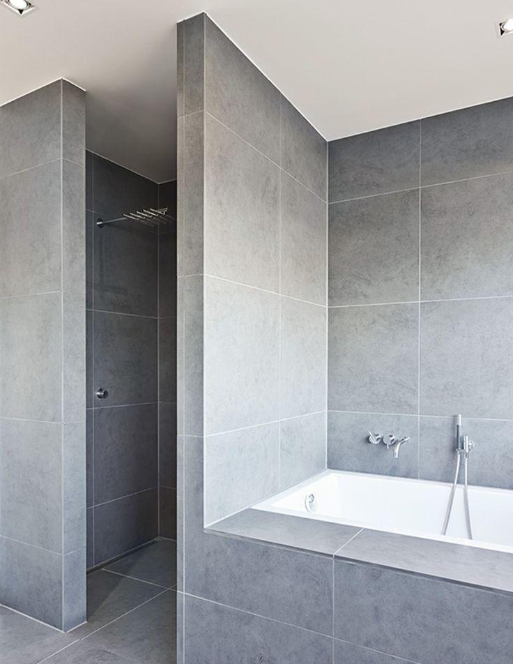 douche zonder glas - google zoeken | bathroom | pinterest, Badkamer