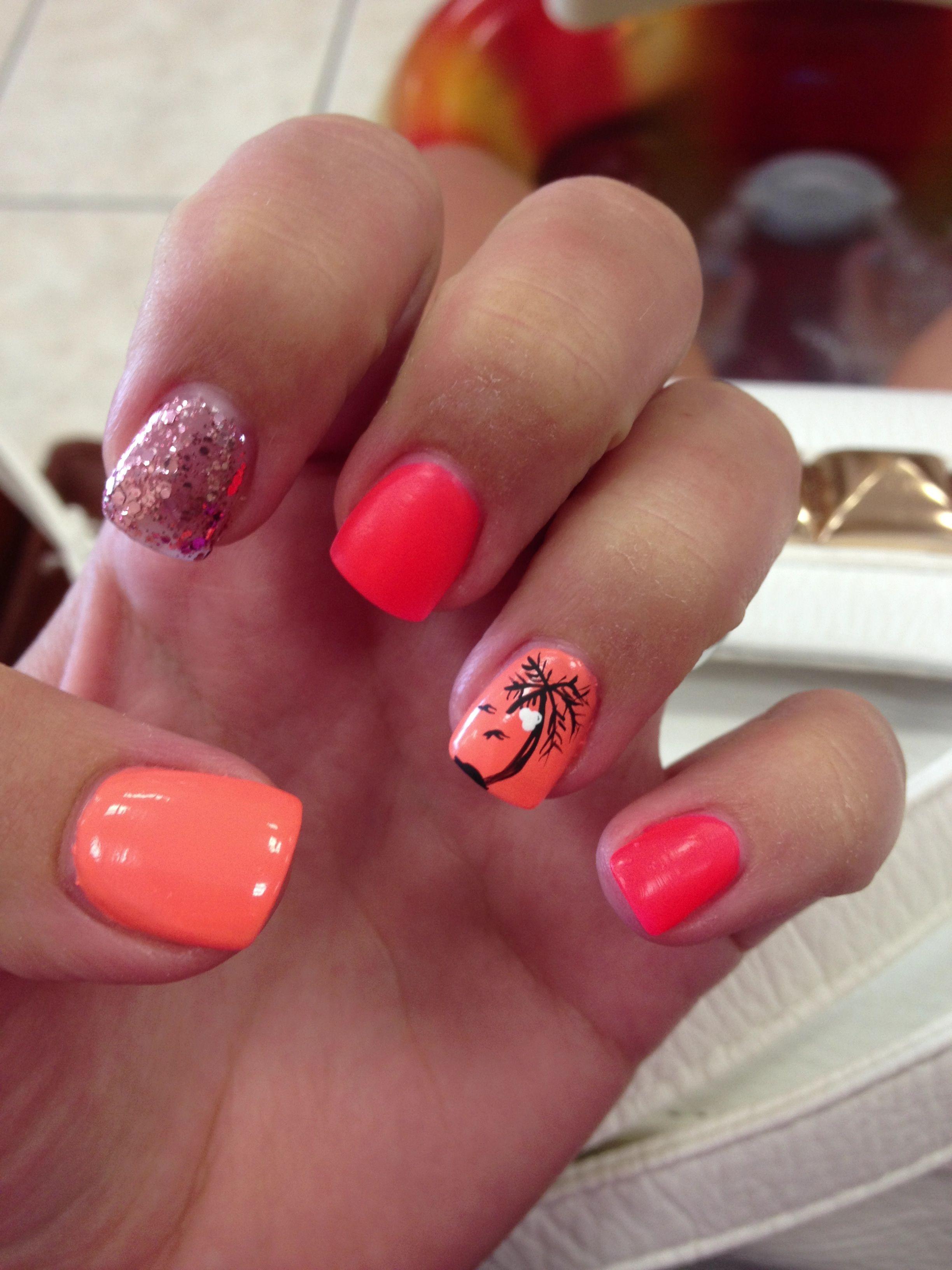 Vacation nails! | Beauty | Pinterest