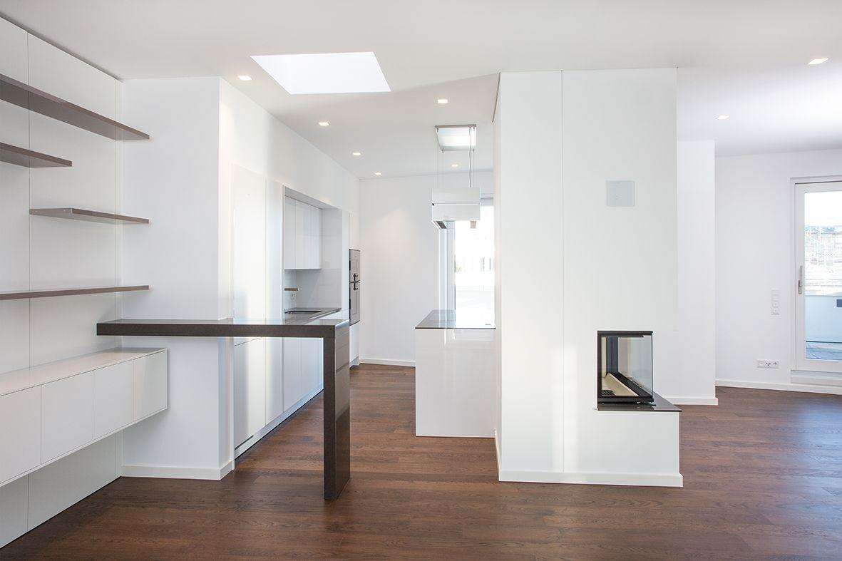 Hängele Treppenhaus küche in messing hpl hpl showroom