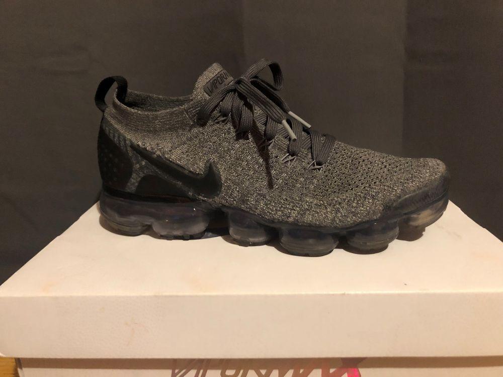 best loved a6251 49b44 Nike Air Vapormax Flyknit 2 Dark Grey/Black-Wolf Grey Size 8 ...