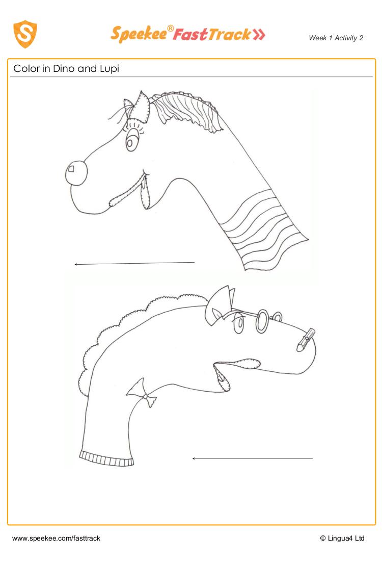 Coloring Worksheet Color Worksheets Spanish Printables Spanish Kids [ 1100 x 750 Pixel ]