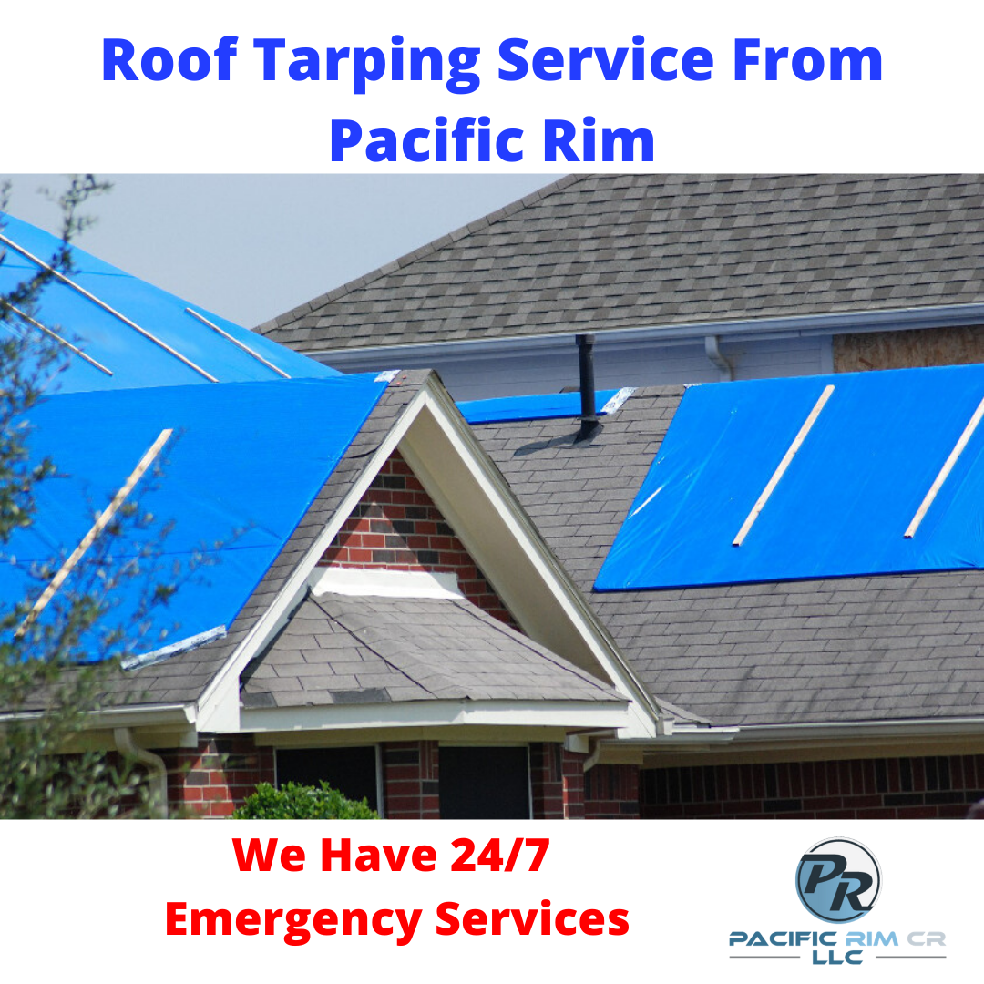 If You Re In Need Of Emergency Roof Tarping Services Pacific Rim Cr Llc Is The Industry Expert Servicing Seattle A Damage Restoration Residential Pacific Rim