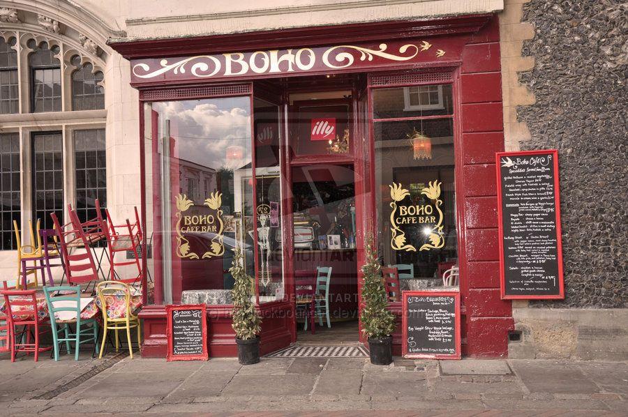 Boho Cafe Bar By Haystackbouncer On Deviantart Cafe Bar Cafe Boho