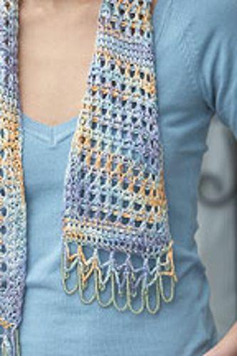 Ravelry: La Mer Scarf pattern by Sheryl Means