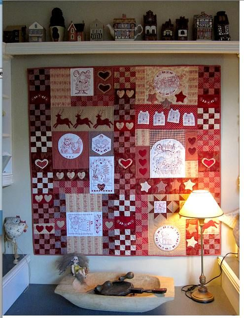 Red Brolly Christmas Wish Quilt. | Bronwyn Hayes Red Brolly ... : red brolly wish quilt - Adamdwight.com