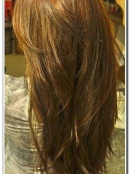 Long Hair With Layers Back View Download Page Beauty Style Ideas
