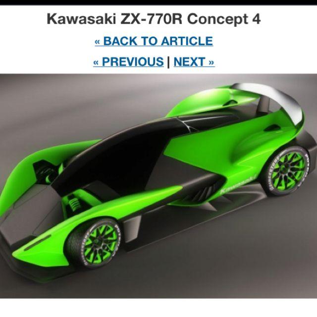 Kawasaki Made A Car Looks Like A Freakin Hot Wheel Kawasaki