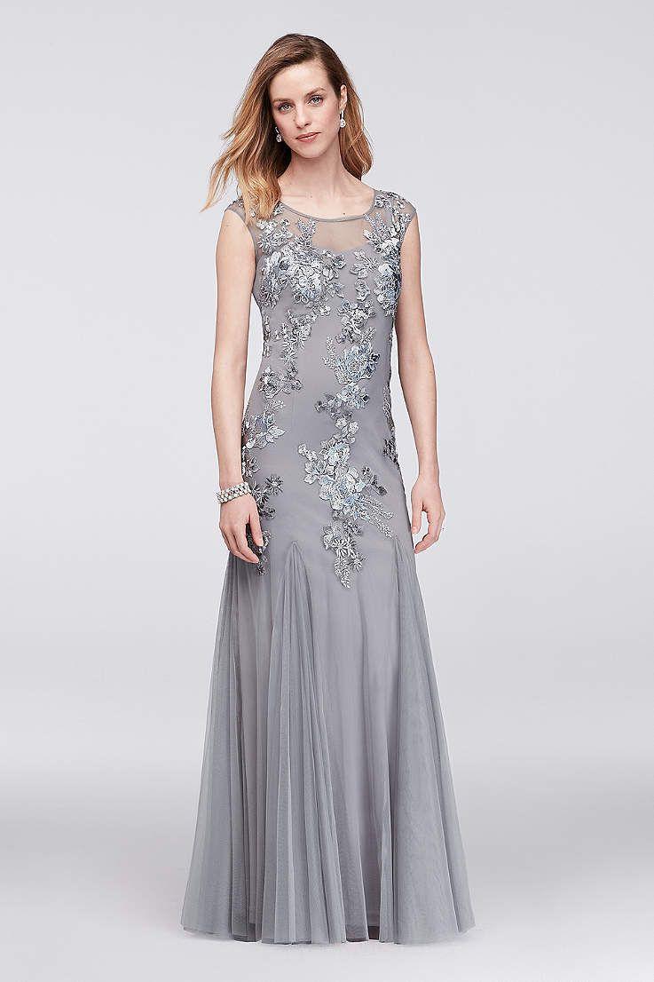 View Long Emma Street Dress at David\'s Bridal | mother of bride ...