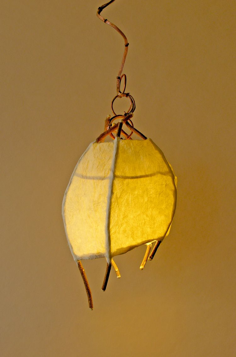 Lighting Pendants Created With Natural Materials Birch Willow Studio In 2020 Lamp Paper Lamp Paper Light