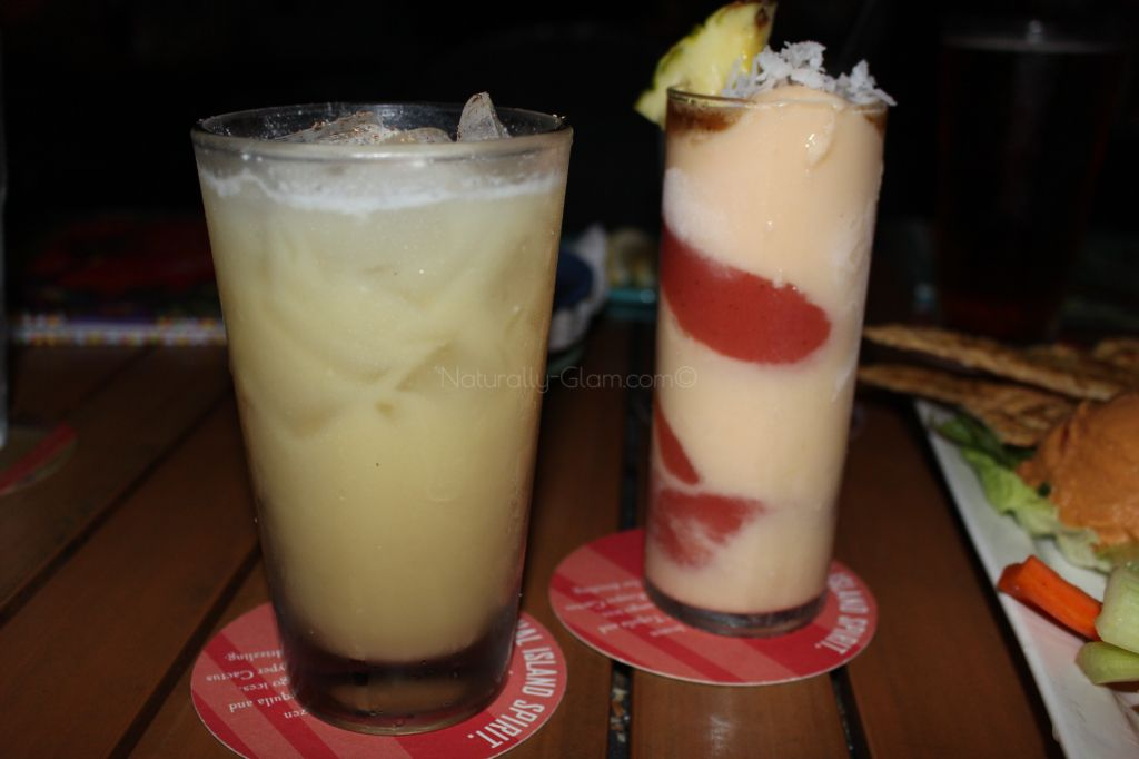 Bahama Breeze to try out their Rumtoberfest menu.