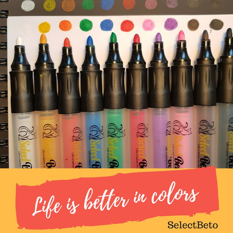 Acrylic Paint Pens Selectbeto Markers For Painting On Rocks