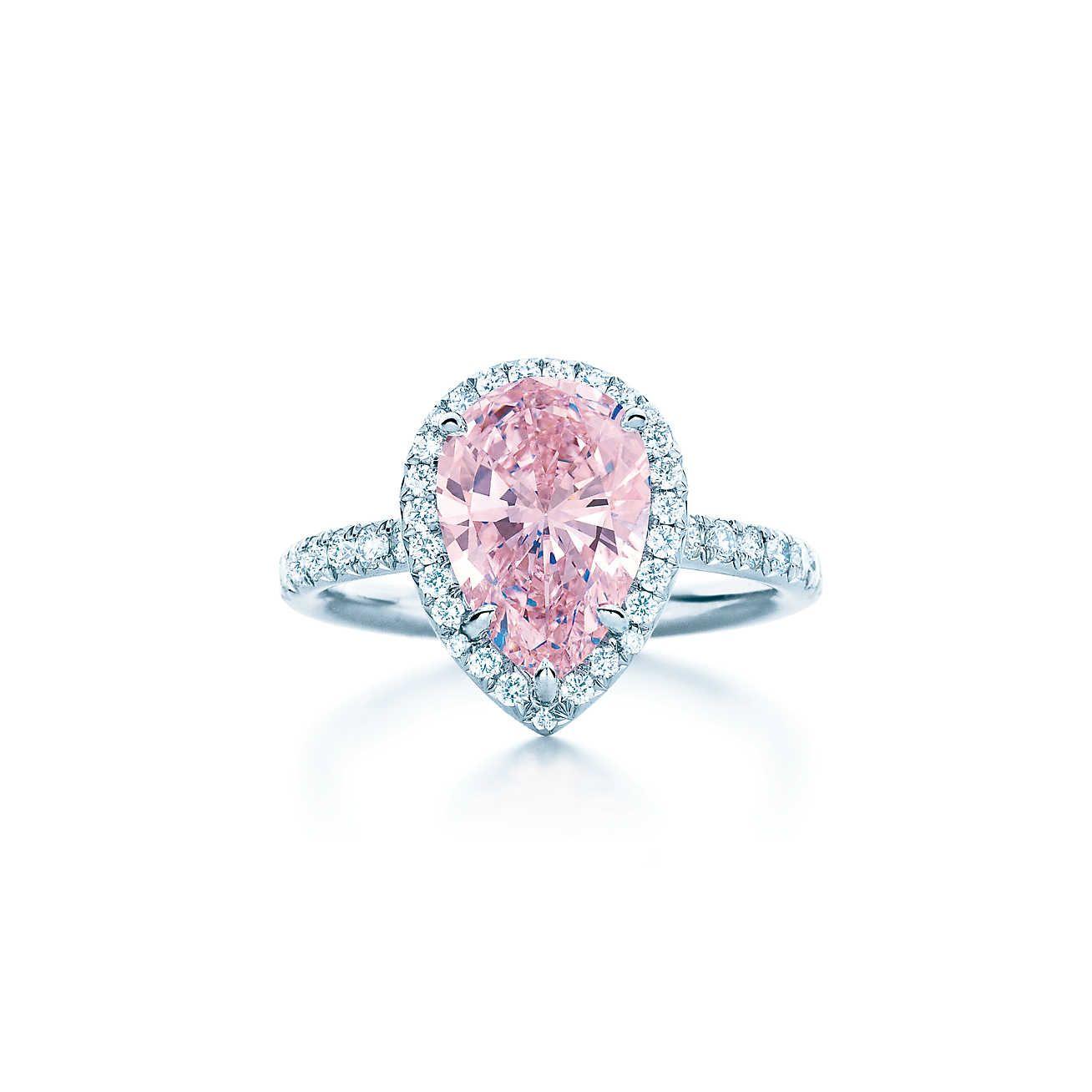 fancy intense pink<br>diamond ring   dream wedding   pinterest