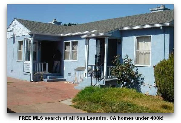 Free Mls Search Of All San Leandro Ca Homes Under 400k San Leandro