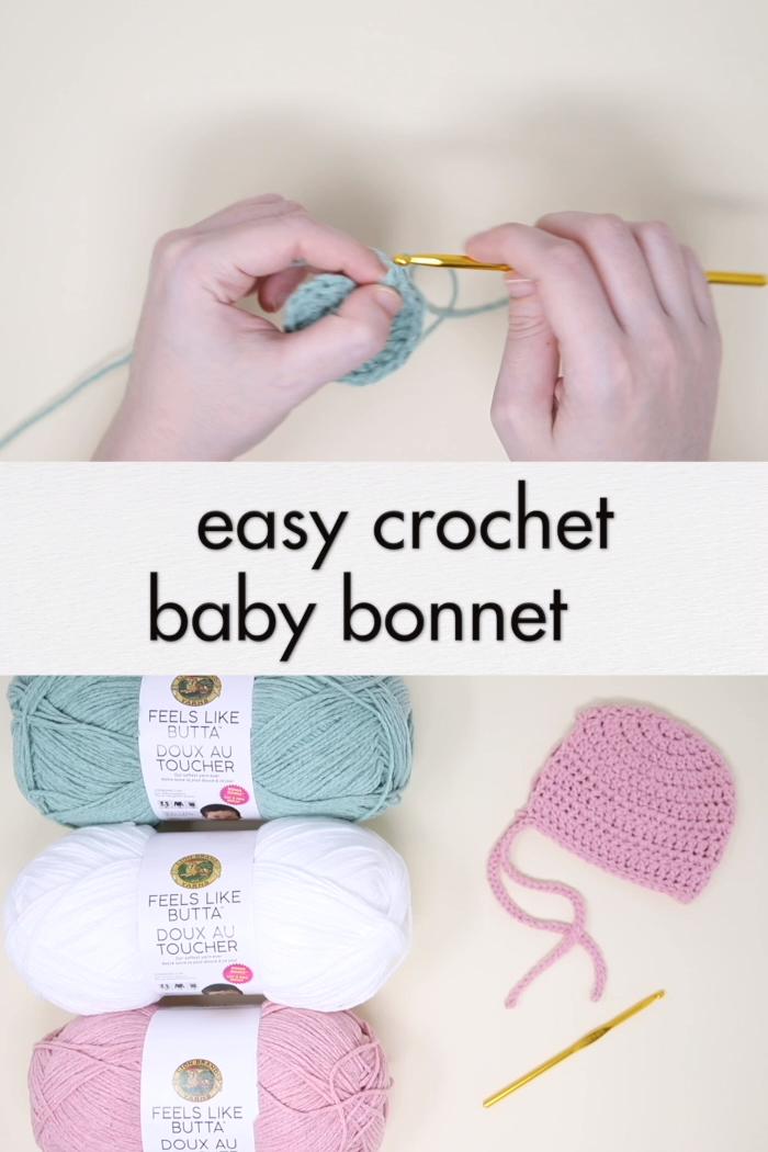 Photo of Crochet Baby Set – Vintage Bonnet & Bloomers – free pattern