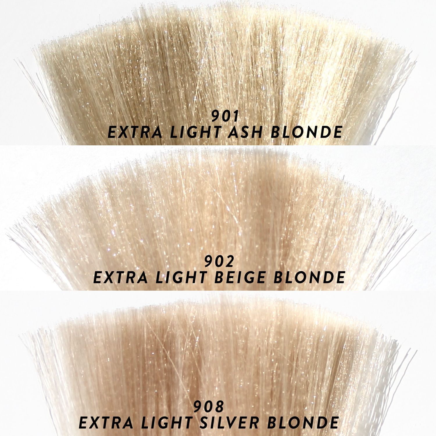 Which Platinum Are You 901 With Ash Toners 902 With Beige