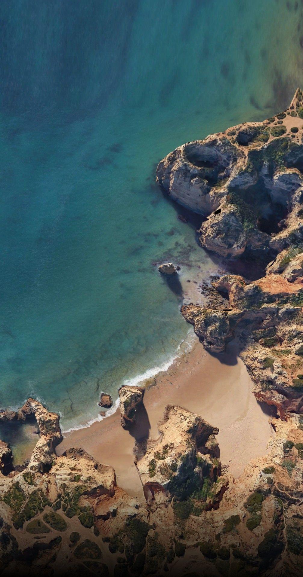 Permalink to Beach Pixel 2 Wallpaper