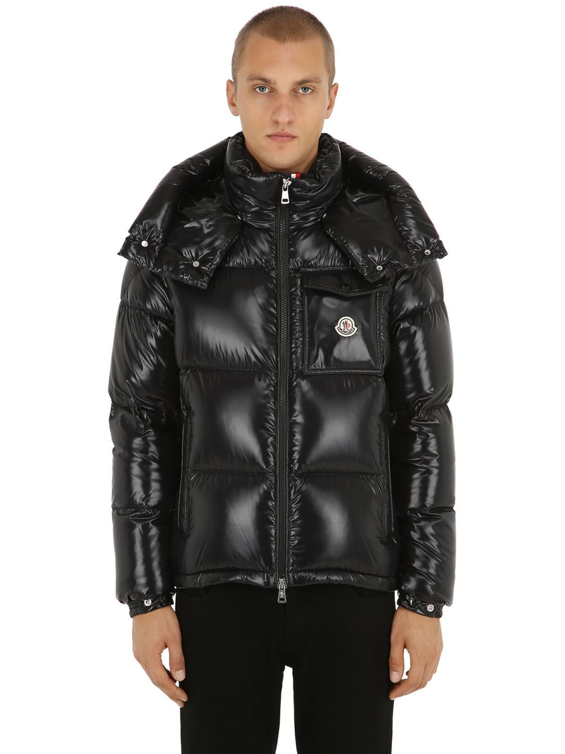 f762cdbf3fab MONCLER MONTBELIARD NYLON LAQUÉ DOWN JACKET.  moncler  cloth ...