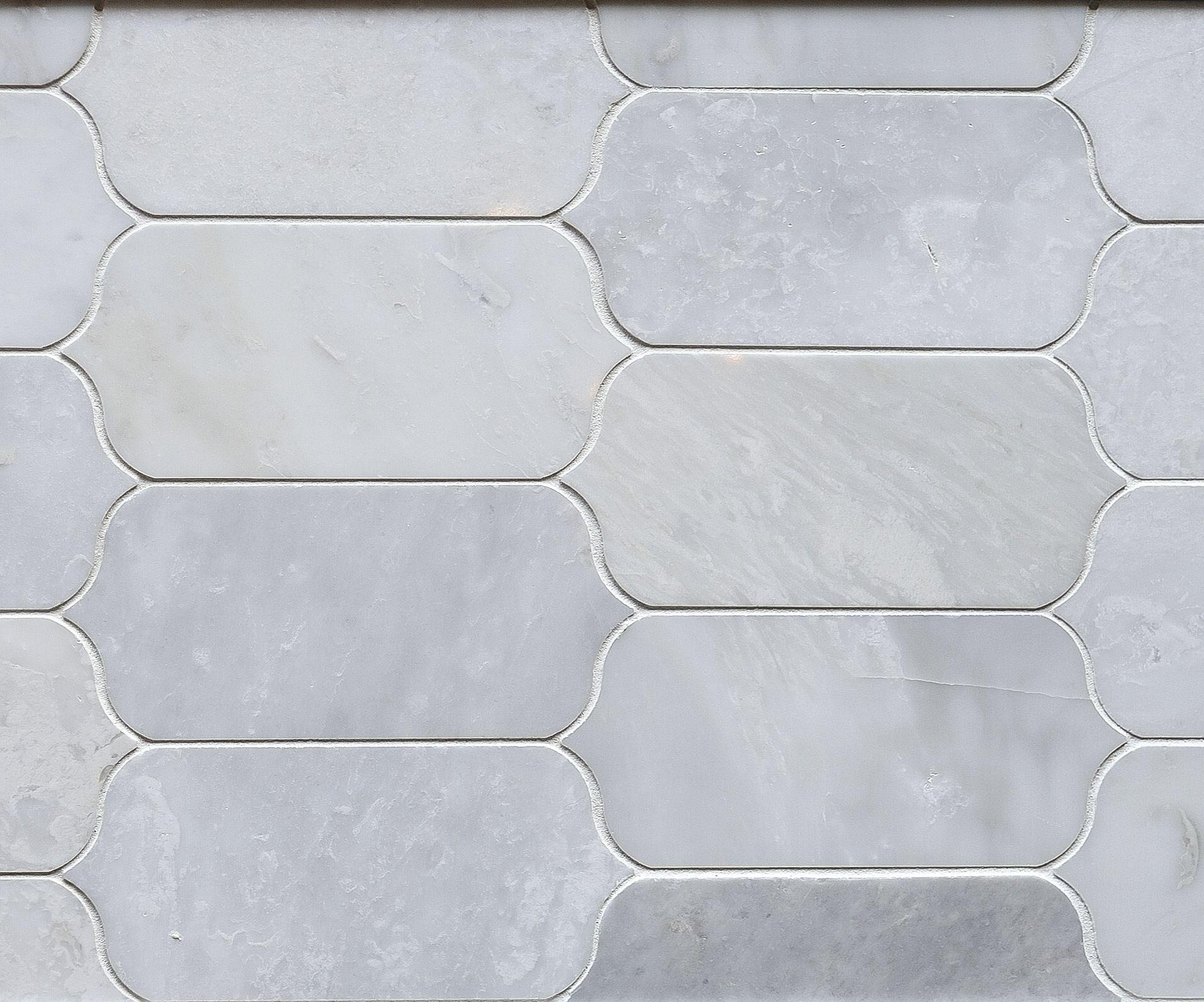 Marble Mo48 Stormy Mist Ingot Mosaic Level 6 As Backsplash Kitchen Tiles Backsplash Kitchen Redo Daltile