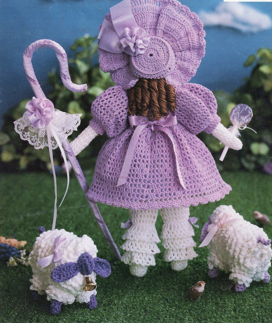 South Maid Fairy Tales Fables Fantasy Crochet Patterns Book Little