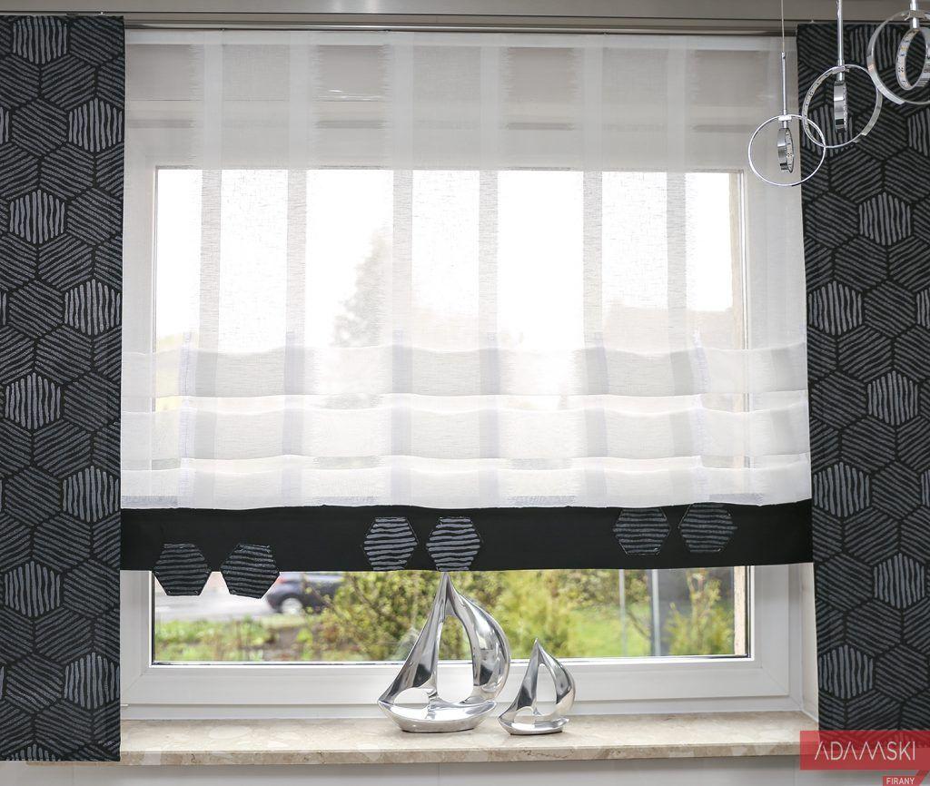 Firany Do Lazienki Rolety Rzymskie I Panele Firanowe Blog Firany Adamski Mama I Corka Dekoruja Wnetrza Home Roman Shade Curtain Home Decor