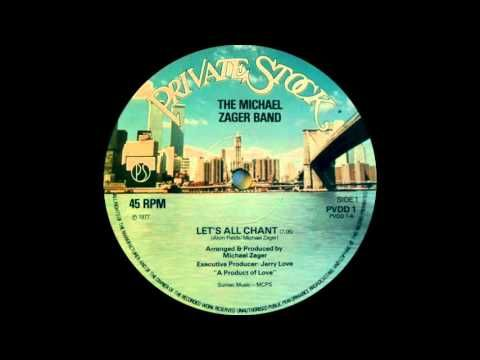The Michael Zager Band Let S All Chant Private Stock Records 1977 Youtube Roller Disco 70s Music Let It Be