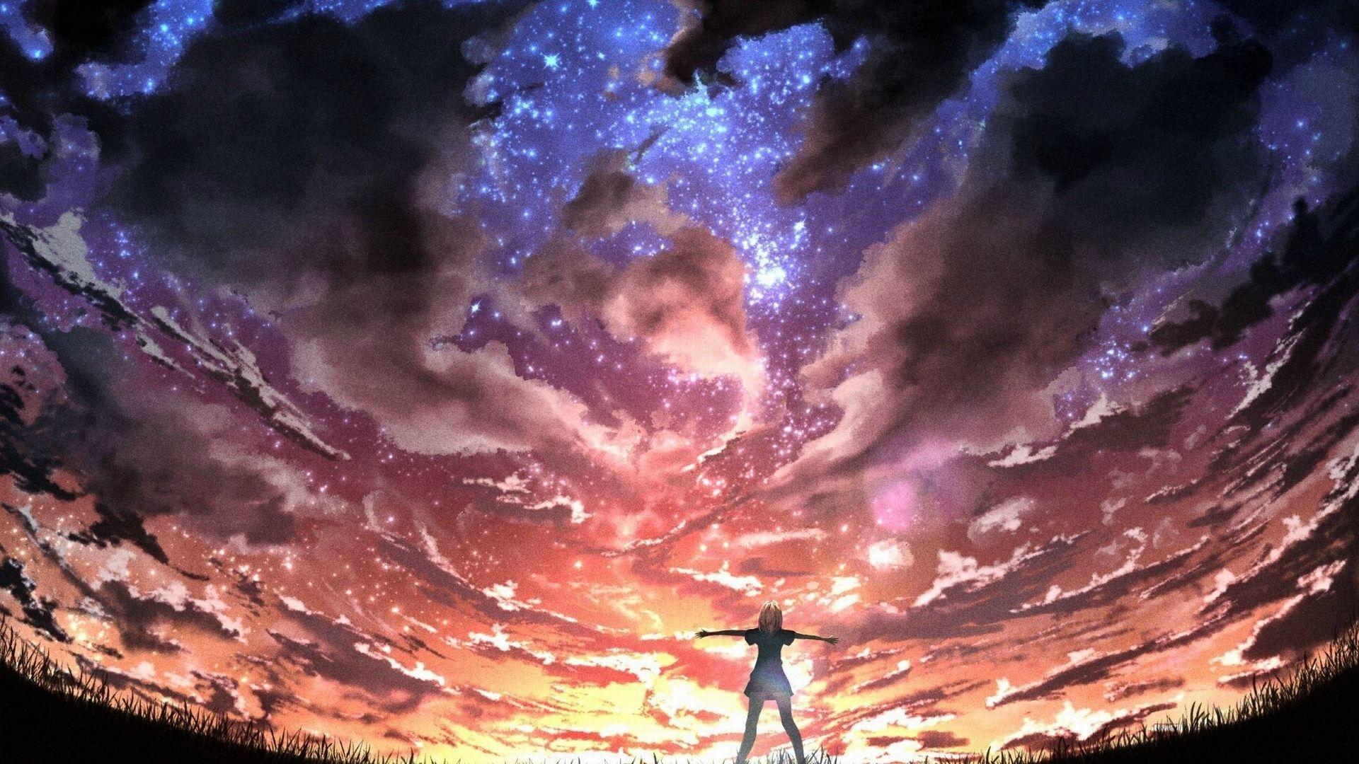 Res 1920x1080, anime wallpaper 4k 98 261 Seni, Animasi