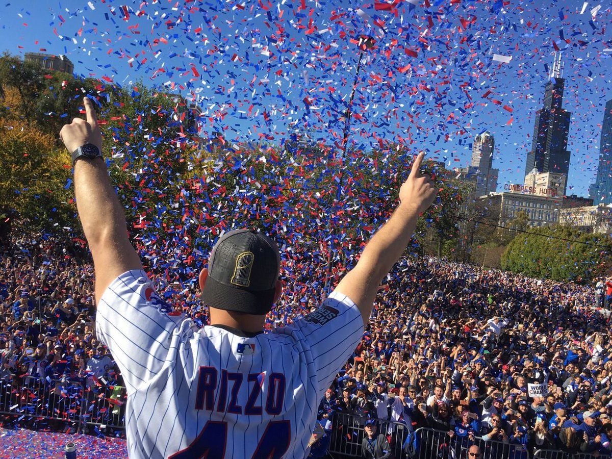 7957b9667aa The Chicago Cubs World Series Victory Parade (November 4
