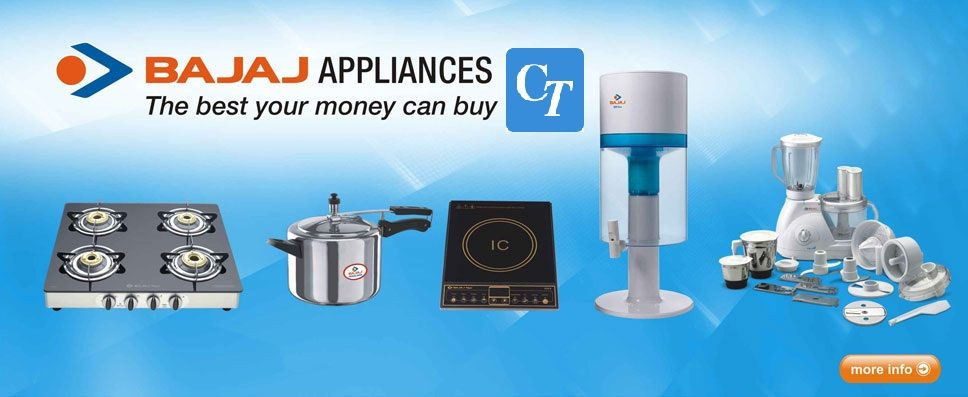 Appliances Are Part Of Our Kitchen. Bajaj Electrical Brought A ...