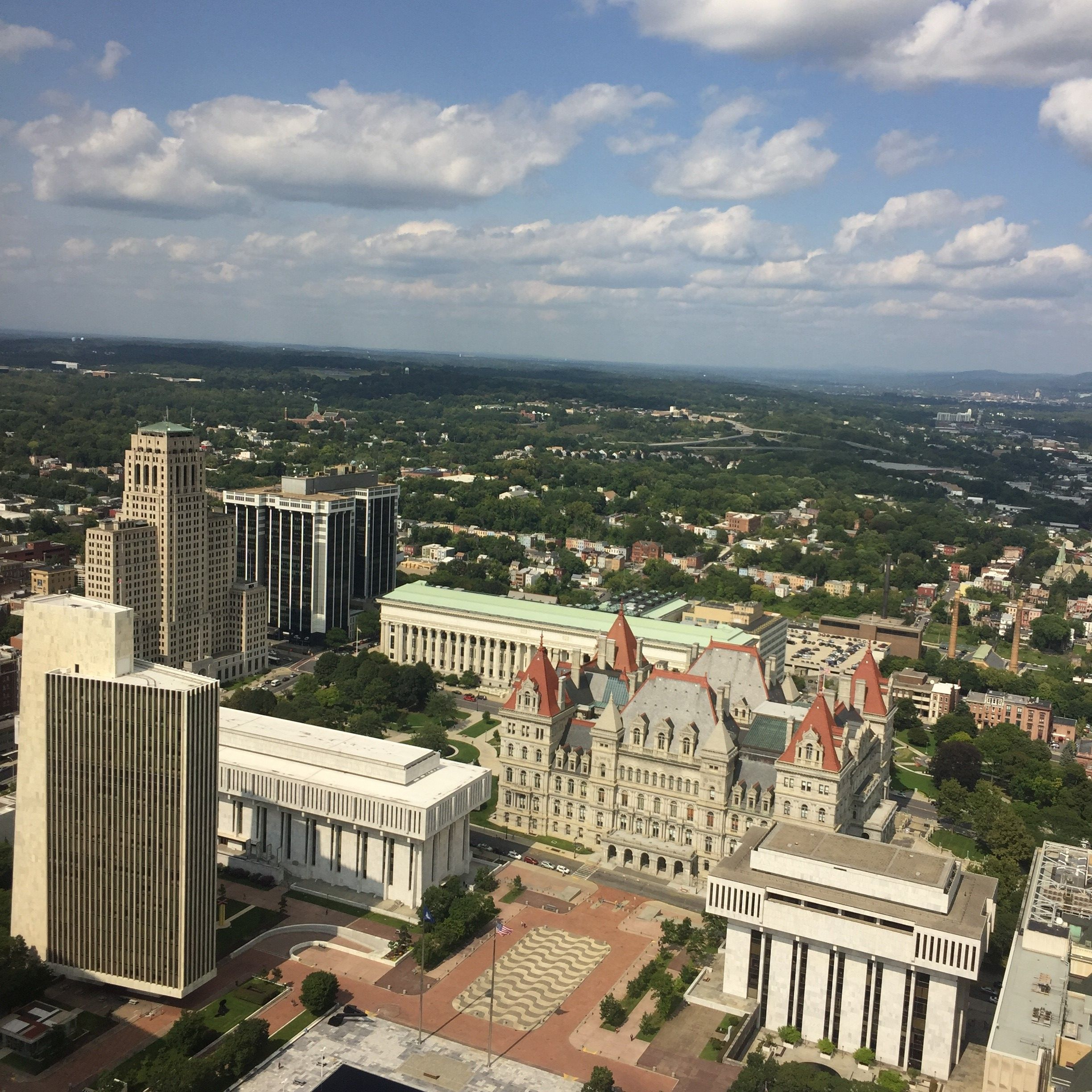 Visit The Corning Tower In Albany New York For Skyline Views New York Hotels Albany New York Skyline View